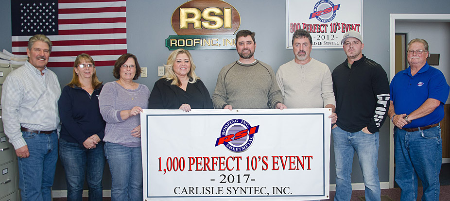 RSI Roofing is an Award-Winning Roofing Contractor